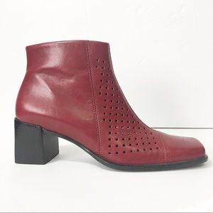 Andrew Stevens Zumba Leather Ankle Boot